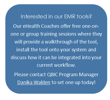 Contact us if you are interested in our EMR tools